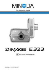 Buy Minolta D E323 E Camera Operating Guide by download Mauritron #320876