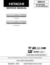Buy Hitachi DVP300U(PX) Service Manual by download Mauritron #285254