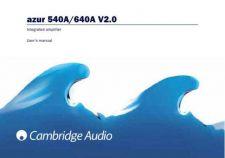 Buy Cambridge Audio Azur540A-640AUserManual-English by download Mauritron #311810