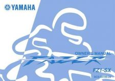Buy Yamaha 3C3-28199-22 Motorcycle Manual by download #334039