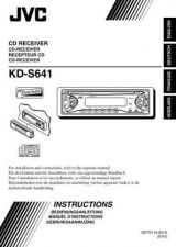 Buy JVC KD-S641-6 Service Manual by download Mauritron #282155