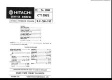 Buy Hitachi CHASSIS-FH89XS-2 Service Manual by download Mauritron #288751