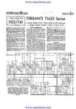 Buy FERRANTI T1425 by download Mauritron #315375