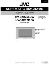 Buy JVC HV-32D25 Service Manual Circuits Schematics by download Mauritron #274494