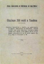 Buy Stazione a tandem_1925 by download Mauritron #337843