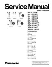 Buy Sharp RP-HV250E Manual by download Mauritron #298506