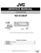Buy JVC KD-G128UF Service Manual by download Mauritron #274951