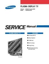Buy Samsung PS42P5HX Service Manual by download Mauritron #332857