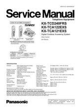 Buy Panasonic KX-TCA121EXS----- Manual by download Mauritron #299662