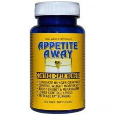 Buy Appetite Away Hunger Suppressant Bottle (30 Capsules) from 4 Organics