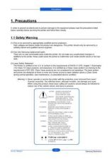Buy 20080519105103812 01-PRECAUTIONS Manual by download Mauritron #302849