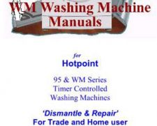 Buy Hotpoint WM63 Washing Machine Service Manual by download Mauritron #327526
