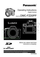 Buy Panasonic DMC-FZ20GN Manual by download Mauritron #298779