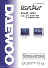 Buy Daewoo DTQ-29U1 Service Manual by download Mauritron #322360