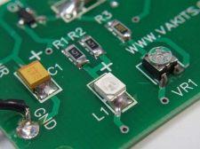 Buy Built & Tested - SMT LED Blinky Kit - YELLOW