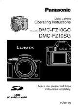 Buy Panasonic DMC-FZ10EB Manual by download Mauritron #298769