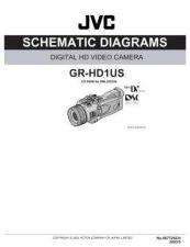 Buy JVC GR-HD1_schem Service Manual by download Mauritron #274297