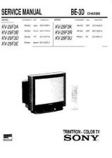 Buy Sony KV-27S42 TV Service Manual by download Mauritron #322908