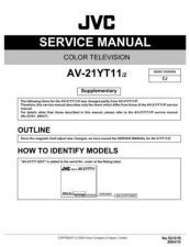 Buy JVC AV-21WX3-1 Service Manual by download Mauritron #279695