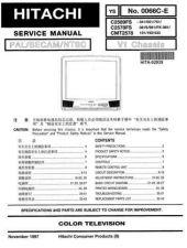 Buy Hitachi C25-FL30S Service Manual by download Mauritron #288655