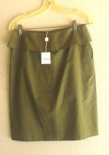Buy Michael Kors Skirt 4 6 Olive Saks Fifth Aveunue NWT $250 Designer Label 4-6
