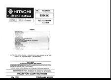 Buy Hitachi CLU-600PR Service Manual by download Mauritron #288924