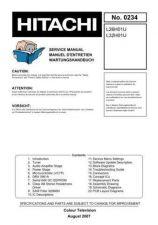 Buy Hitachi L32H01U Service Manual by download Mauritron #323184