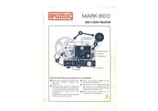 Buy Eumig Mark 610D Projector Operating Guide by download Mauritron #307079