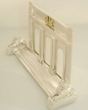 Buy NewYork42nd street Library business card holder sterling silver 10K Gold