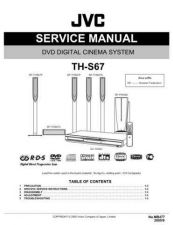 Buy JVC TH-S67 Service Manual by download Mauritron #277037