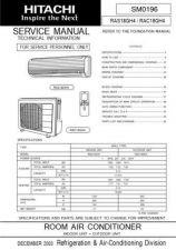 Buy Hitachi RASRAC-13C7 Service Manual by download Mauritron #286164