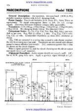 Buy MARCONI T82B Service Information by download Mauritron #316168