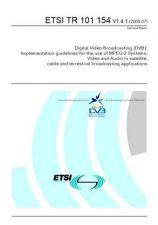 Buy Panasonic ETSI TR 101 154 V1.4 Manual by download Mauritron #299098