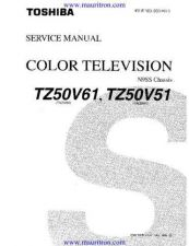 Buy Toshiba TZ50V51 Service by download Mauritron #323084