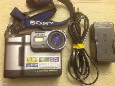 """Buy Sony MVC FD88 floppy disk 3.5"""" Digital Mavica Camera w/EXTRAS"""