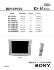 Buy Sony KVX2981 Service Manual by download Mauritron #333055