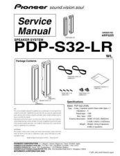 Buy Panasonic PDP-S32-LR Manual by download Mauritron #301224