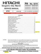 Buy Hitachi PA0210 Service Manual by download Mauritron #323305