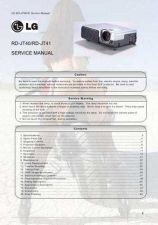 Buy LG RD-JT40 Service Manual by download Mauritron #332162