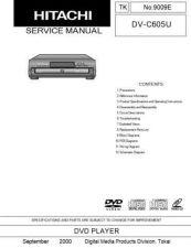 Buy Hitachi DVP505U Service Manual by download Mauritron #289884
