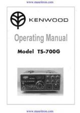Buy Trio TS700 Operating Guide by download Mauritron #326359