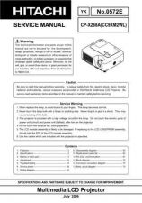 Buy Hitachi CPX328 Service Manual by download Mauritron #289271