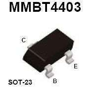 Buy SMT Transistor - MMBT4403 PNP (SOT-23) - 35 Pieces