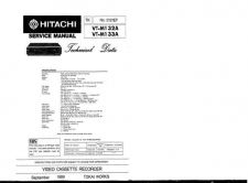 Buy Hitachi VTM171A1 Service Manual by download Mauritron #287335