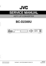 Buy JVC BC-D2300U Service Manual by download Mauritron #281330