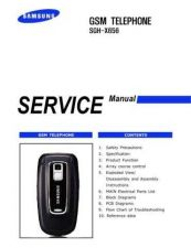 Buy Samsung SGH-X656 Mobile Phone Service Manual by download Mauritron #306476