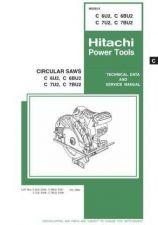 Buy Hitachi C6BU2 Tool Service Manual by download Mauritron #319677