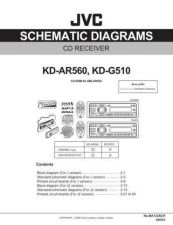Buy JVC KD-G510 - AR560_SCH Service Manual by download Mauritron #275012
