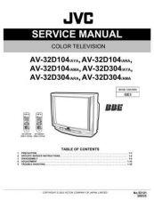 Buy JVC AV-29WS3 schem Service Manual by download Mauritron #279900