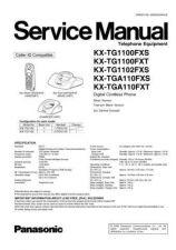 Buy Panasonic KX-TG1072NLB=--------- Manual by download Mauritron #300409